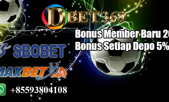 Promo Bonus Member baru 20%