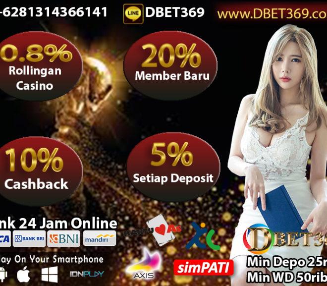 DBET369 Situs Taruhan Bola Online & Situs Terpercaya