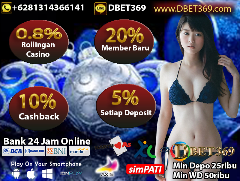 DBET369 Situs Judi Bola Online Deposit Pulsa