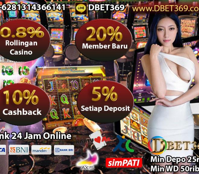 DBET369 Situs Slot Deposit Pulsa Rate Termantap Di Indonesia