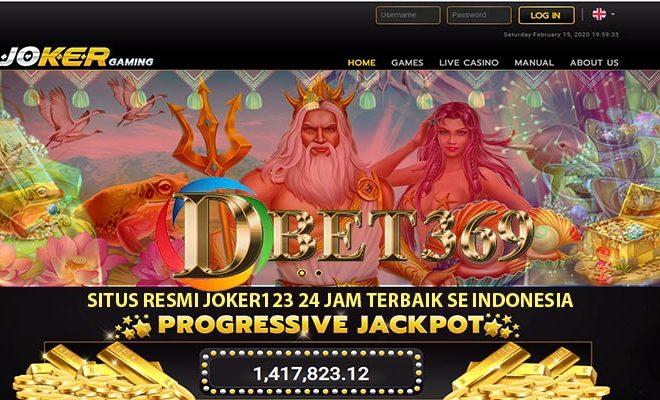 Situs Joker123 Winrate Tertinggi Di Indonesia